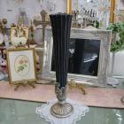 <b>【入荷未定】</b>【フラワーベース】ロココ調カップ(花器)「Greece」ブラック (H61cm)
