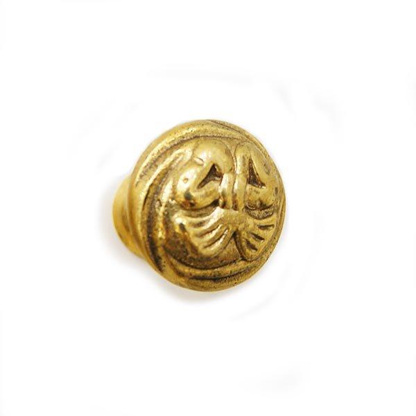 【即納可!】ロココ ・スタイル♪ アンティーク調 取っ手 ゴールド(Ф2.5cm)