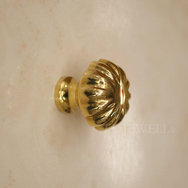 【即納可!】真鍮製 アンティーク調 取っ手 ・ ゴールド(S)