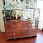 【ミラー家具】Mirrored Furniture 3段チェスト