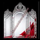 <B>【ベネチアンミラー】</B>壁掛けミラー スーパークラシック-1033:W100×H100cm