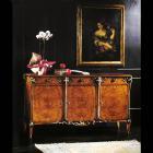 イタリア製 高級輸入家具<b>【BROGIATO】</b>ART NOUVEAU シリーズ 3ドアサイドボード(W185×H103)
