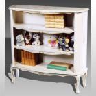 イタリア製 高級輸入家具<b>【BROGIATO】</b>ANASTASYA シリーズ ブックシェルフ W100×D30×H100cm