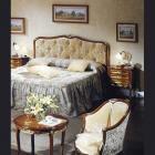 イタリア製 高級輸入家具<b>【BROGIATO】</b>D'ANNUNZIO シリーズ ベッド(W112cm)