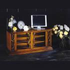 イタリア製 高級輸入家具<b>【BROGIATO】</b>ART NOUVEAU シリーズ 2ドアテレビボード(W130cm)