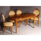 イタリア製 高級輸入家具<b>【BROGIATO】</b>ダイニングテーブル(W165×D95×H76cm)