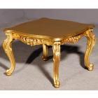 イタリア製 高級輸入家具<b>【BROGIATO】</b>ゴールドサイドテーブル