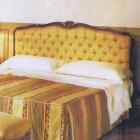 イタリア製 高級輸入家具<b>【BROGIATO】</b>ベッド(W185×D215×H120cm)