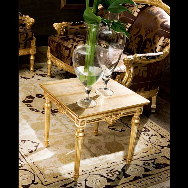 イタリア高級輸入家具 【SILIK−シリック】 EROS シリーズ サイドテーブル
