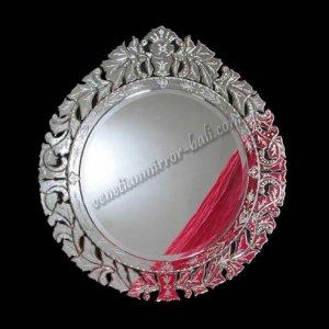 【ベネチアンミラー】オーバル「Philip Round」(φ70cm)