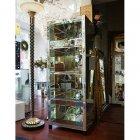 【訳あり】【即納可!】【ミラー家具】Mirrored Furniture 4段キャビネット W60×D50×H160cm