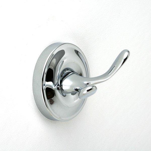 タオルフック (クローム・真鍮製):W65mm
