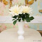 <B>【即納可!】</B>【Art silk flower】ダリア・ホワイト (1本)(φ 約24cm)<img class='new_mark_img2' src='https://img.shop-pro.jp/img/new/icons24.gif' style='border:none;display:inline;margin:0px;padding:0px;width:auto;' />
