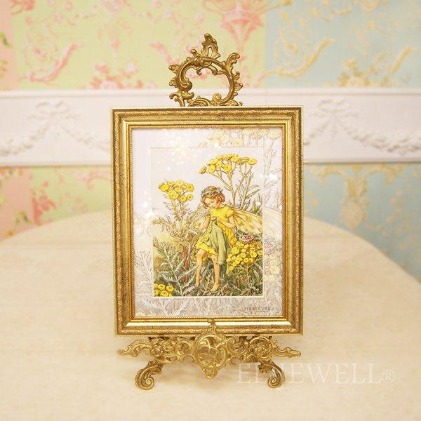 【即納可!】シシリー.M.バーカー「Flower Fairies」額絵「タンジーフェアリー 」W29×H35cm