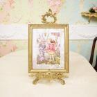 シシリー.M.バーカー「Flower Fairies」額絵「コロンバインフェアリー」W29×H35cm