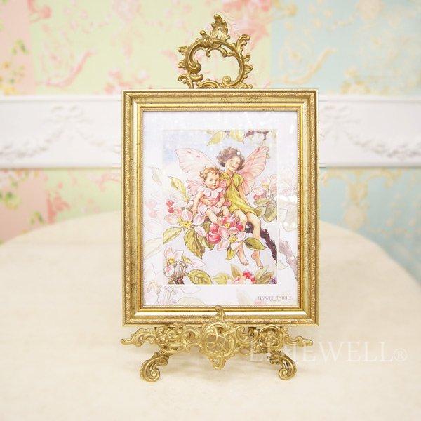 【入荷未定】 シシリー.M.バーカー「Flower Fairies」額絵「アップルブロッサム」W29×H35cm