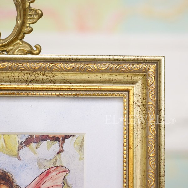 【即納可!】シシリー.M.バーカー「Flower Fairies」額絵「アップルブロッサム」W29×H35cm