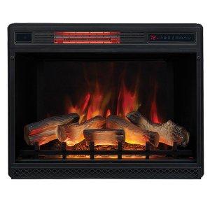 <b>【LLOYD GRANDE】</b>高級木製マントルピース用電気式暖炉本体-ヴィンテージ-(28inch)1000W・1500W(W742×D262×H587mm)