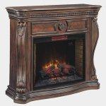 <b>【LLOYD GRANDE】</b>高級木材マントルピース暖炉本体セット「レキシントン」エンパイアチェリー(W1397×D432×H1143mm)