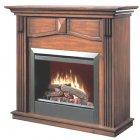 <b>【Dimplex】</b><プロローグ>高級電気式暖炉セット「ホルブルック」(23inch)ウォールナット(W1117×D419×H1092mm)
