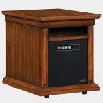 <b>【LLOYD GRANDE】</b>高級木製暖炉本体セット「リビングストーン」ウォールナット(W343×D508×H457mm)