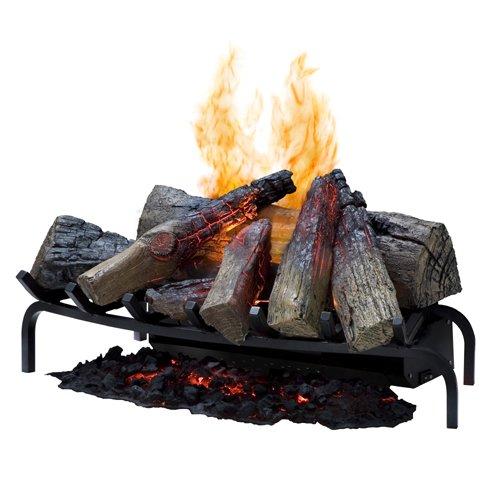 【Dimplex】<オプティミストオープンハース>電気式薪暖炉(※暖房機能なし)(W717×D356×H305mm)