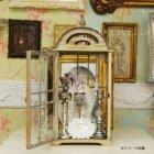 <b>【即納可!】</b>シャビーなフレンチカントリーウッドハウス Lサイズ:(W38cm x D28cm x H82.5cm)