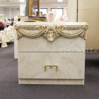 <B>【LEONARD】</B>【CAMEL】イタリア製 〜 ナイトテーブル W60×D40×H52cm