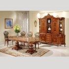 イタリア製 高級輸入家具<b>【BROGIATO】</b>LOUIS XV シリーズ ダイニングテーブル(W300×D120×H78cm)