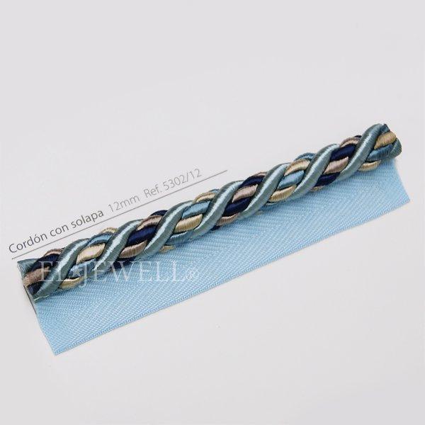 スペイン【Castilla Rienda社】 カーテンコード H12mm (全6色) 25m巻