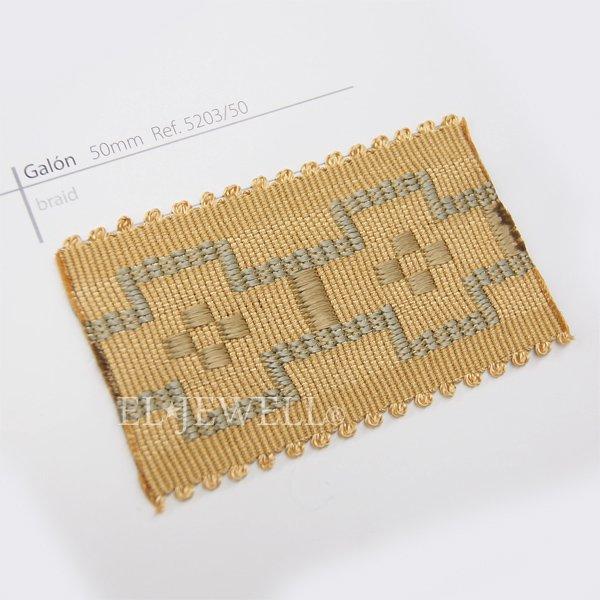 スペイン【Castilla Rienda社】 カーテンブレード H50mm (全14色) 25m巻