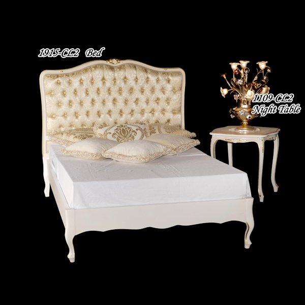 イタリア製 高級輸入家具 【BROGIATO】 ベッド(W152×D209×H125cm)