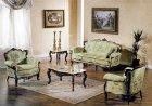 イタリア製 高級輸入家具<b>【BROGIATO】</b>NABUCCO シリーズ 大理石天板サイドテーブル(W55×D55×H48cm)