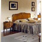 イタリア製 高級輸入家具<b>【BROGIATO】</b>D'ANNUNZIO シリーズ ベッド(W117cm)