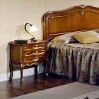 イタリア製 高級輸入家具<b>【BROGIATO】</b>D'ANNUNZIO シリーズ ナイトテーブル(W52×D34×H61cm)
