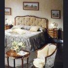 イタリア製 高級輸入家具<b>【BROGIATO】</b>D'ANNUNZIO シリーズ ベッド(W177cm)
