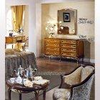 イタリア製 高級輸入家具<b>【BROGIATO】</b>D'ANNUNZIO シリーズ ミラー(W80×H102cm)