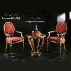 イタリア製 高級輸入家具<b>【BROGIATO】</b>テーブル(Φ66×H66cm)