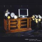 イタリア製 高級輸入家具<b>【BROGIATO】</b>ART NOUVEAU シリーズ 4ドアテレビボード(W185cm)