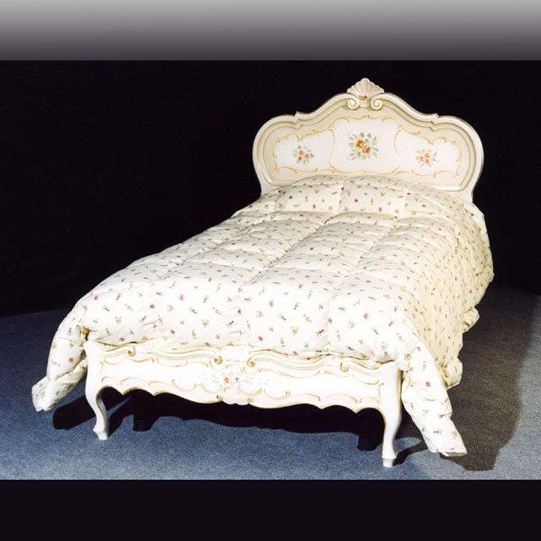 イタリア製 高級輸入家具 【BROGIATO】 ANASTASYA シリーズ ベッド(W217×D213×H127cm)