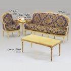 イタリア製 高級輸入家具<B>【BROGIATO】</B>CASANOVA シリーズ サイドテーブル(W60×D60×H45cm)