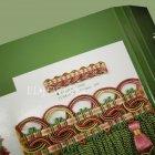 <b>【フランスHOULES社製】</b>「ANTICA」シリーズ フリンジ&トリム H10mm (50m巻)