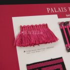 <b>【フランスHOULES社製】</b>「PALAIS ROYAL」シリーズ フリンジ&トリム H40mm (25m巻)