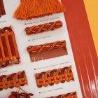 <b>【フランスHOULES社製】</b>「PALAIS ROYAL」シリーズ フリンジ&トリム H12mm (25m巻)