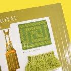 <b>【フランスHOULES社製】</b>「PALAIS ROYAL」シリーズ フリンジ&トリム H60mm (25m巻)