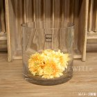 【入荷未定】【フラワーベース】ガラス製 花器(φ18×H18cm)
