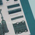 <b>【フランスHOULES社製】</b>「VALMONT」シリーズ フリンジ&トリム H11mm (50m巻)