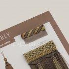 <b>【フランスHOULES社製】</b>「MARLY」シリーズ フリンジ&トリム H12mm (25m巻)