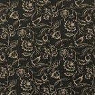 ≪国内在庫品≫輸入ファブリック<b>【イギリス・CLARKE&CLARKE】</b>花柄 ブラック系 137cm巾×1m