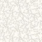 輸入壁紙<b>【デンマーク・Fiona】</b>リーフモチーフ ブラウン系 53cm巾×10.05m巻
